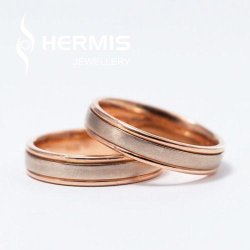 [:lt]Siauri pusiau matiniai vestuviniai žiedai[:en]Narrow half-matte wedding rings[:]