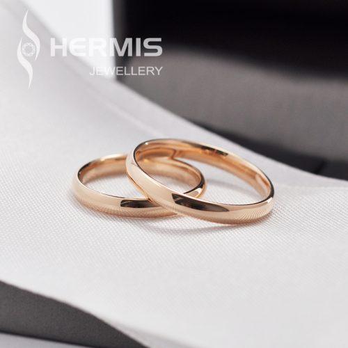 Klasikiniai 2.5 mm pločio vestuviniai žiedai