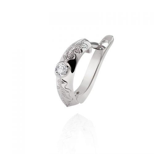 Vyriškas auskaras su deimantu A1157